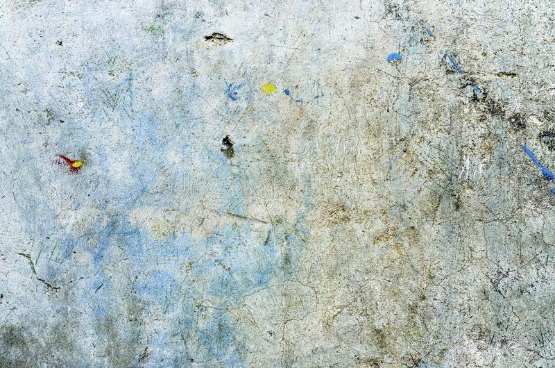 Color background. Grunge red blue and yellow painted on concrete wall. texture abstract for background. Vintage background with grunge texture cracks, remnants stock photos