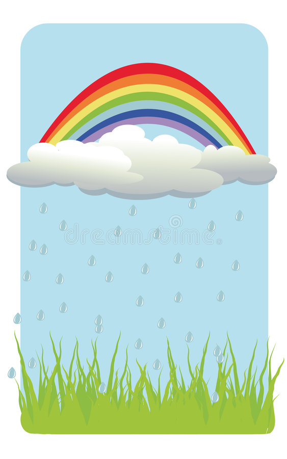 Download Color Background With Rainbow Stock Vector - Image: 5445230
