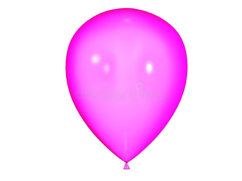 Color balloon stock illustration