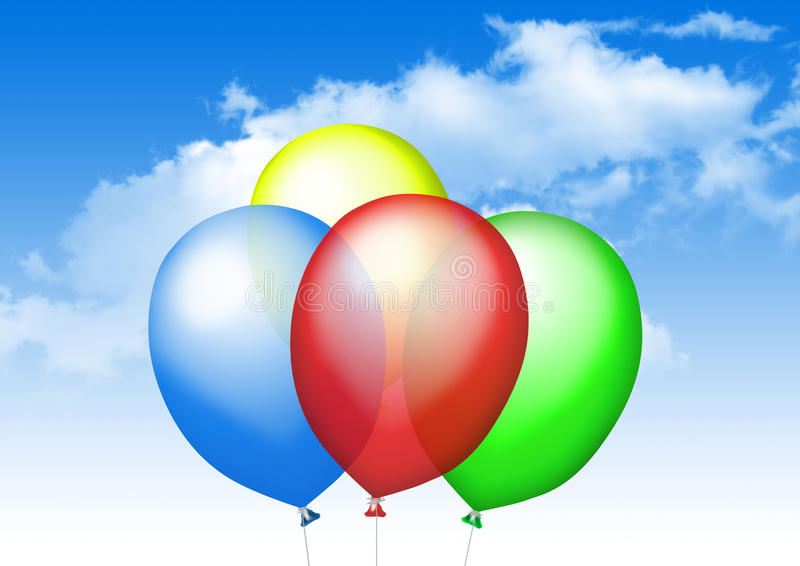 Download Color balloons stock photo. Image of balloon, color, colours - 20885148