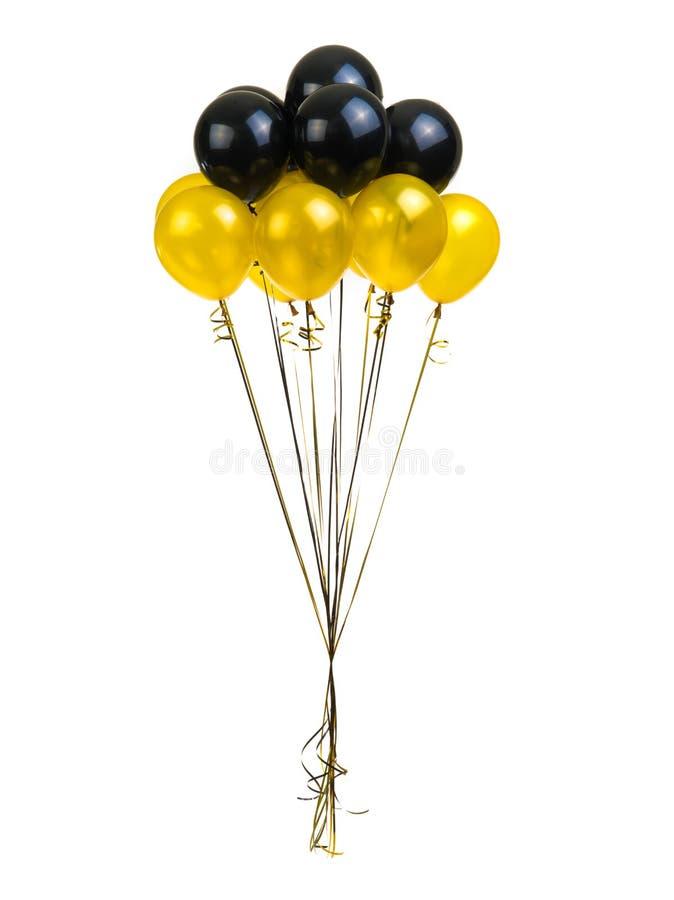 Color balloons stock photos