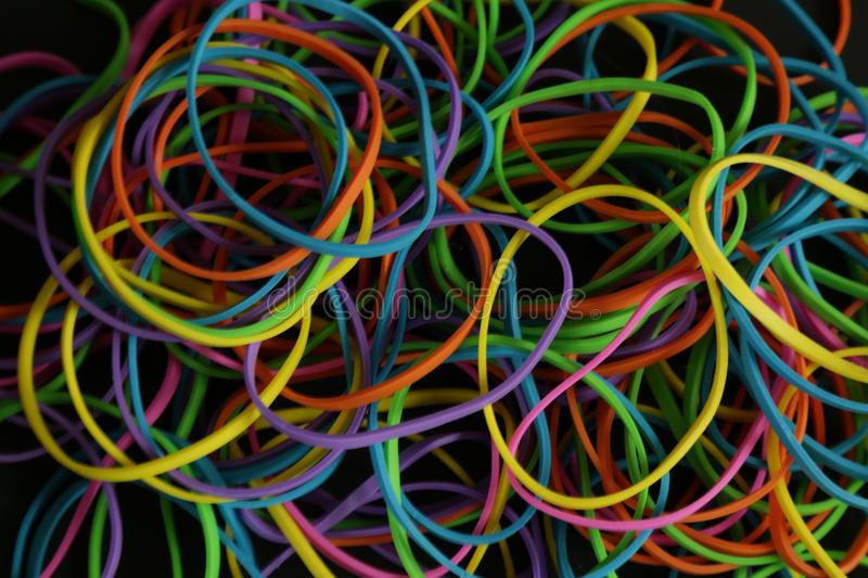 Color bands background stock photography