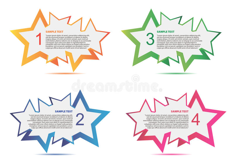 Color Banner stock photography