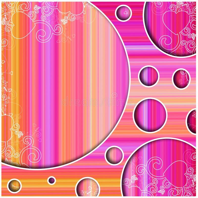 Color blast retro disco background stock illustration