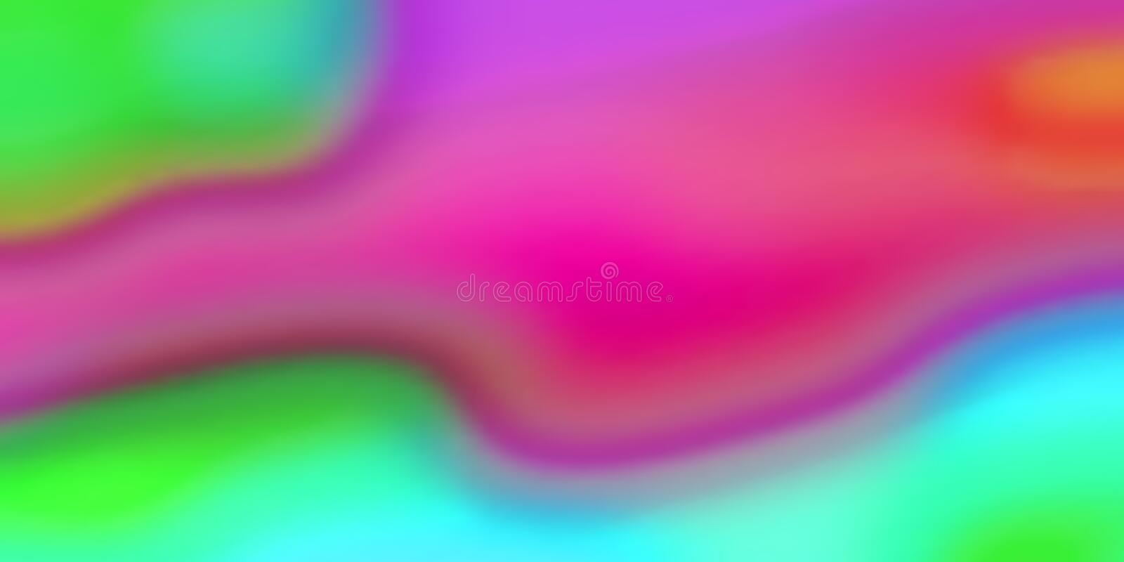 Color blend liquid abstract iridescent pattern background. Vector fluid colors blend background vector illustration