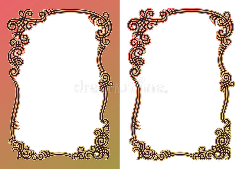 Download Color border stock vector. Image of style, beautiful - 24344263