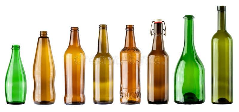 Color bottles stock images