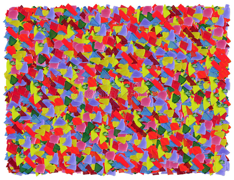 Color broken glass background. Various Color broken glass background royalty free illustration