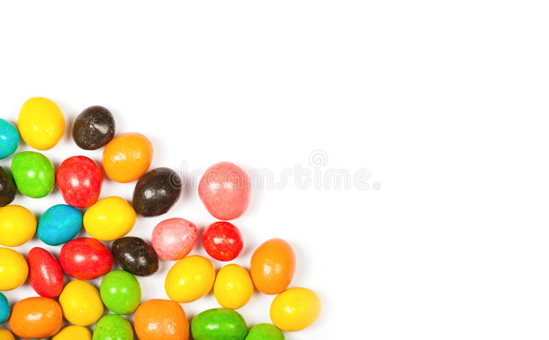Color candy isolated royalty free stock photo
