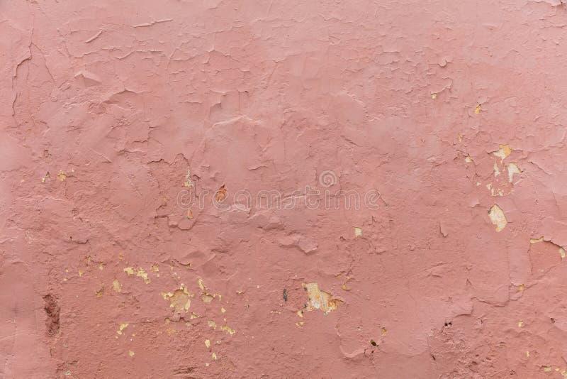 Color castaño rojizo, purpúreo claro, fondo pintado del grunge de la textura de la pared imagenes de archivo