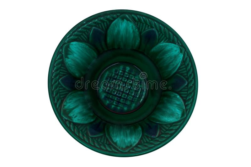 Color ceramic plate clay plate blue plates . Color ceramic plate clay plate blue plates stock photos