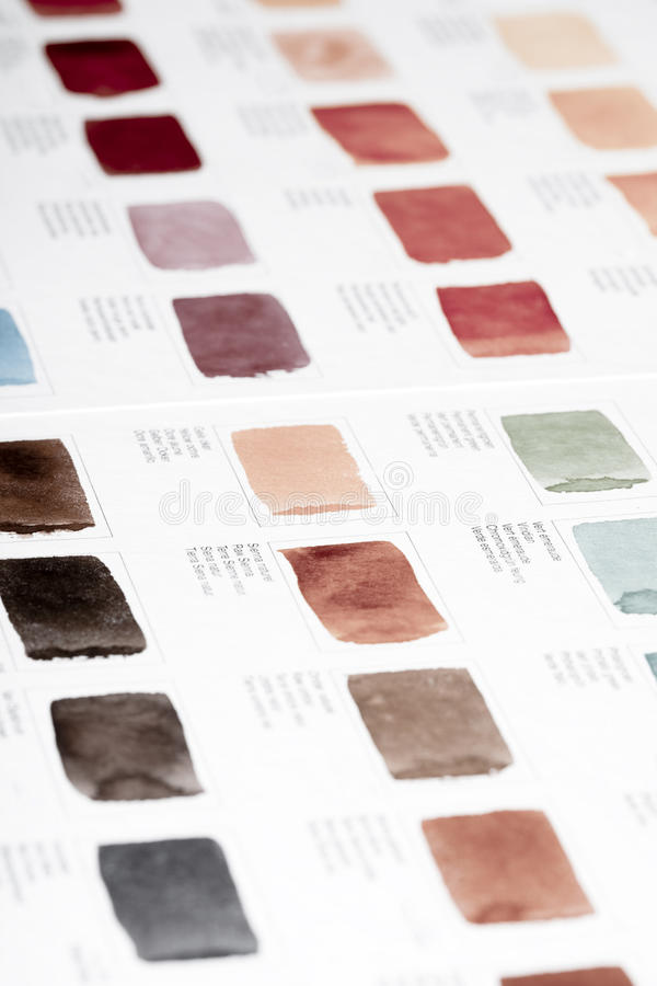 Free Color Chart Royalty Free Stock Photos - 12570068