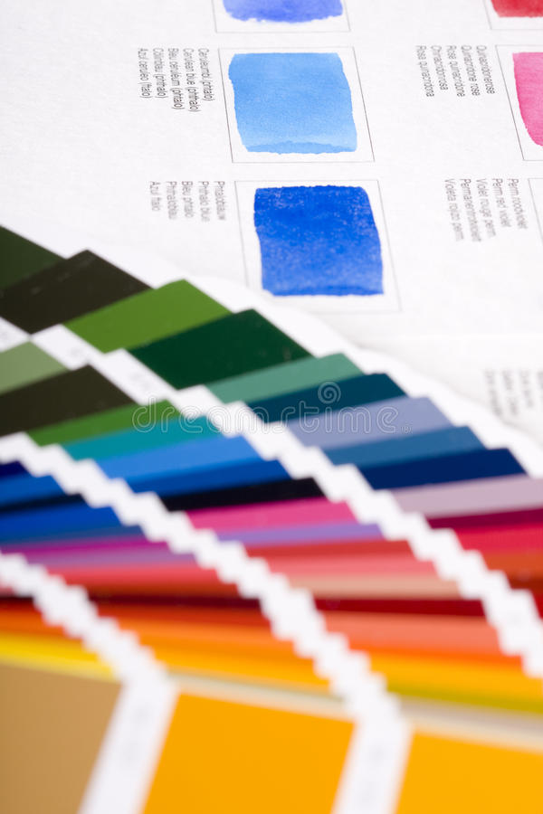 Download Color chart stock image. Image of graphic, cmyk, guide - 12642949