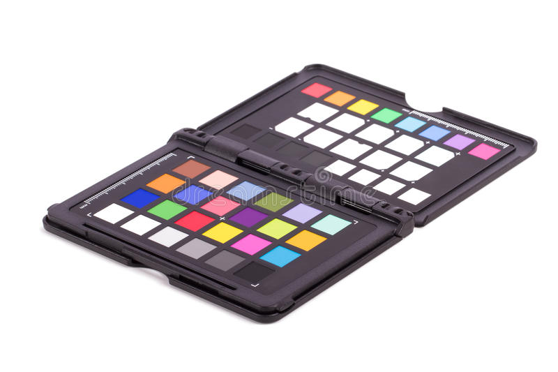 Color Checker Equipment royalty free stock photography
