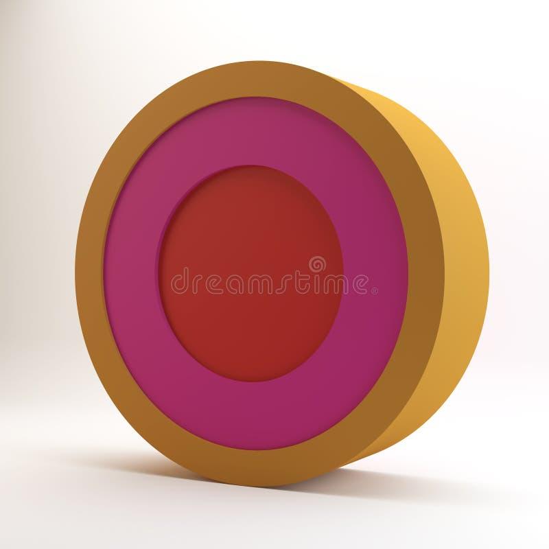 Download Color circle stock illustration. Illustration of charts - 39512202