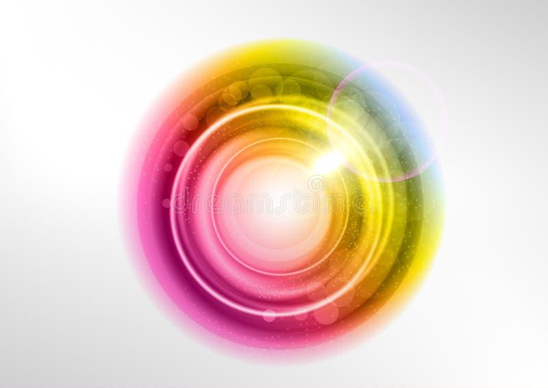 Color circle stock illustration