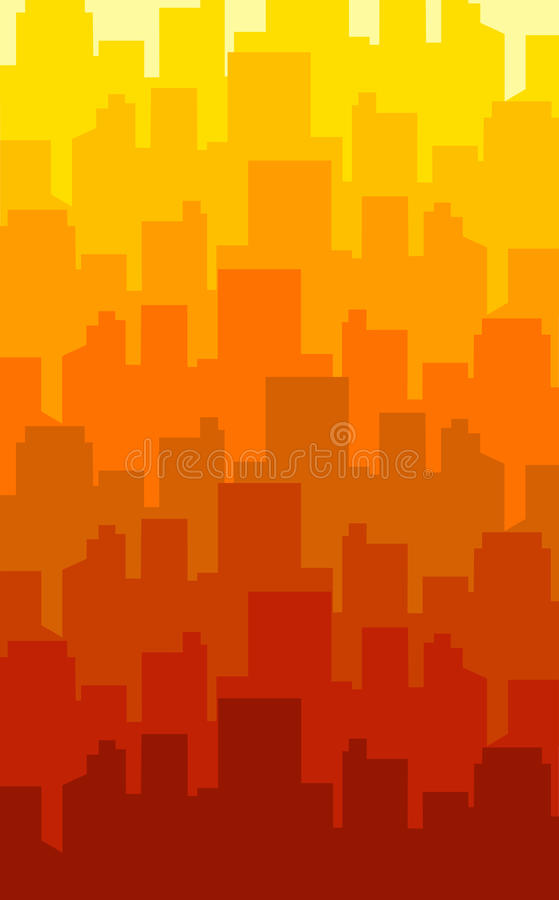 Download Color city stock illustration. Illustration of colors - 21682732
