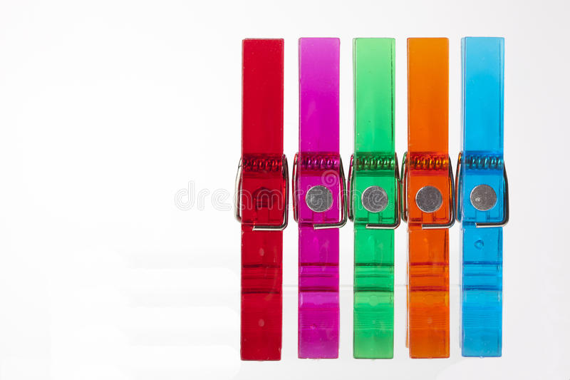 Clothes-peg Royalty Free Stock Images