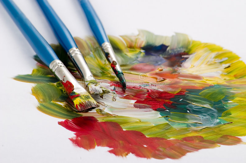 Color composition royalty free stock photo
