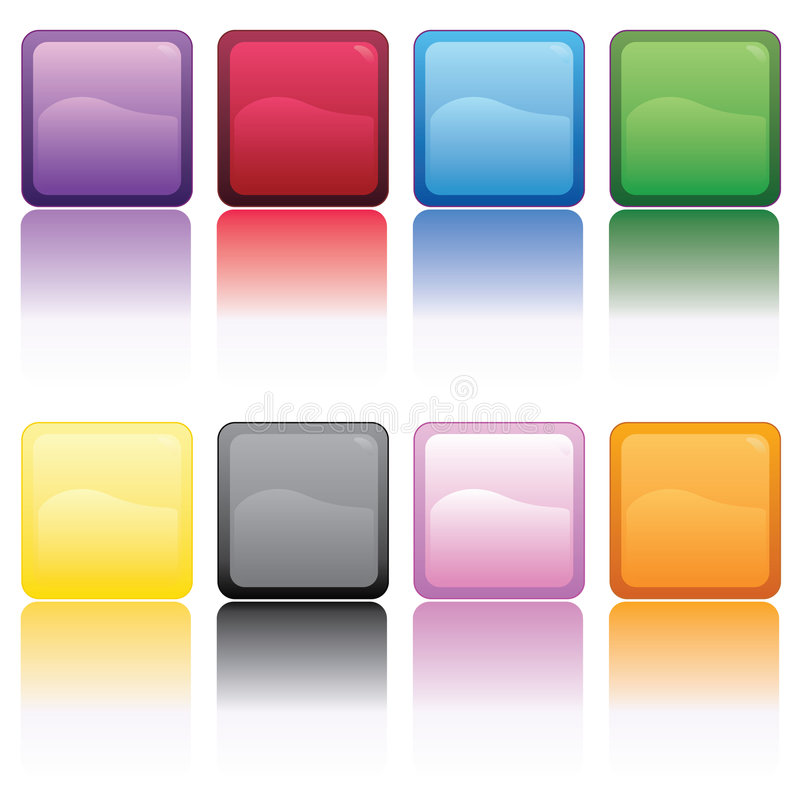 Download Color Cubes stock vector. Image of green, square, cute - 7472534