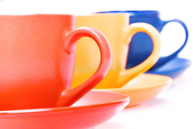 Download Color cups stock image. Image of plate, drink, empty - 10238697