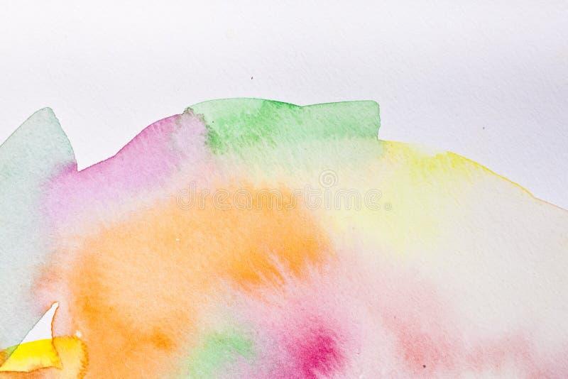 Color de agua abstracto ilustración del vector