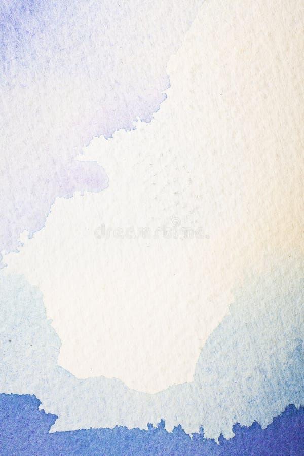 Color de agua abstracto stock de ilustración