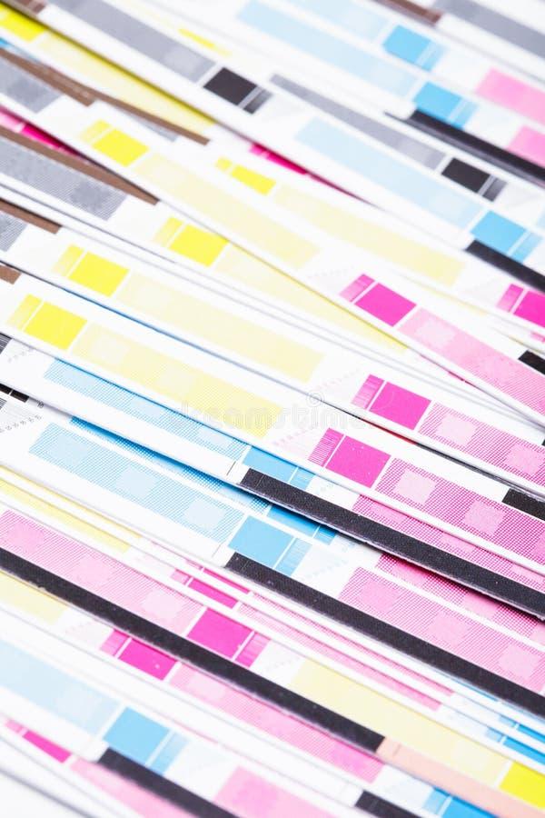 Color de CMYK fotos de archivo libres de regalías