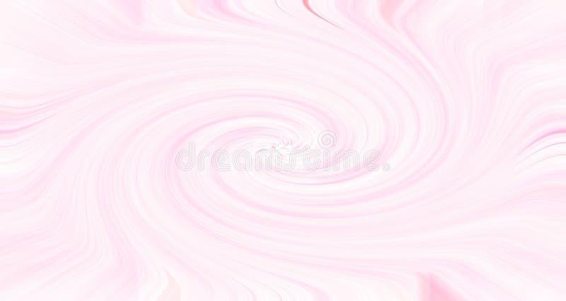 Color de fondo abstracto del modelo de las tiras en foco selectivo con color soñador del efecto del resplandor ilustración del vector