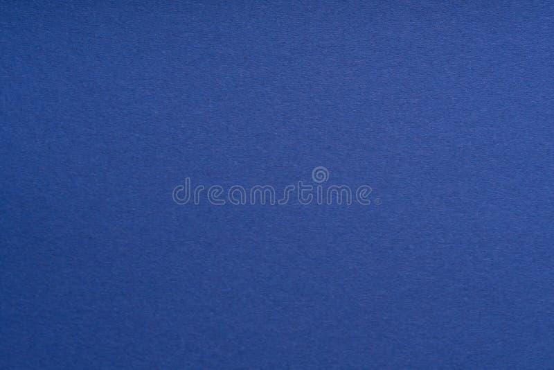 Color de fondo azul de papel Textura de papel ?spera primer Macro foto de archivo libre de regalías