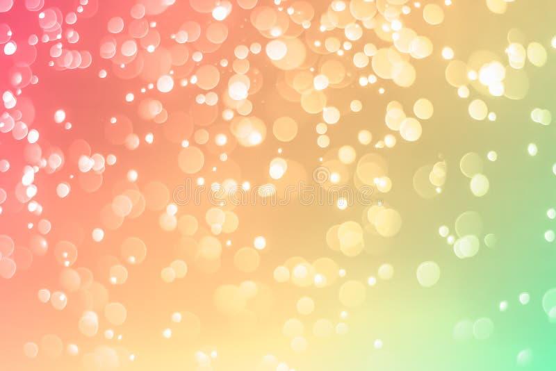 Color de fondo en colores pastel de Bokeh fotos de archivo