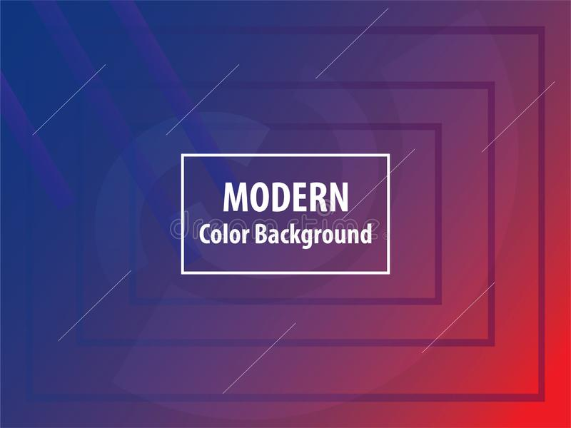 Color de fondo moderno para la web o el app stock de ilustración
