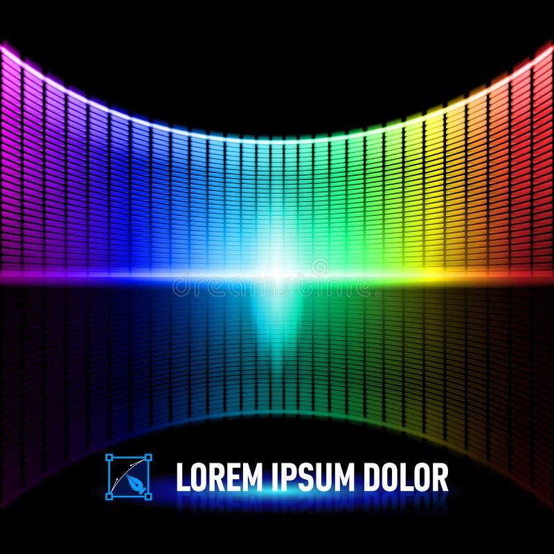 Download Color de la música ilustración del vector. Ilustración de bandera - 41902802