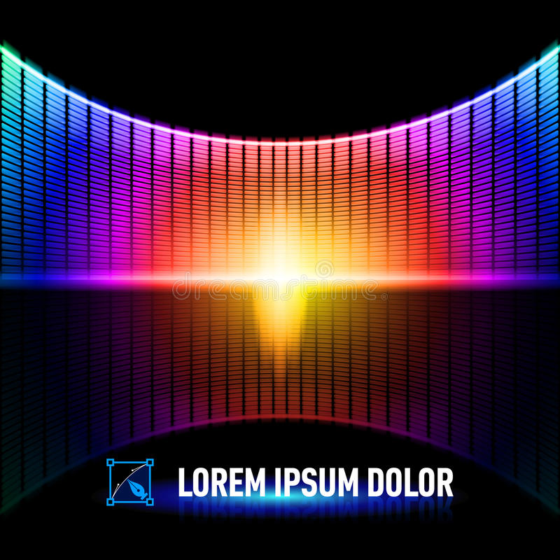 Download Color de la música ilustración del vector. Ilustración de danza - 41902866