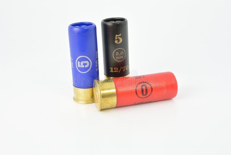 Color de la munición fotografía de archivo