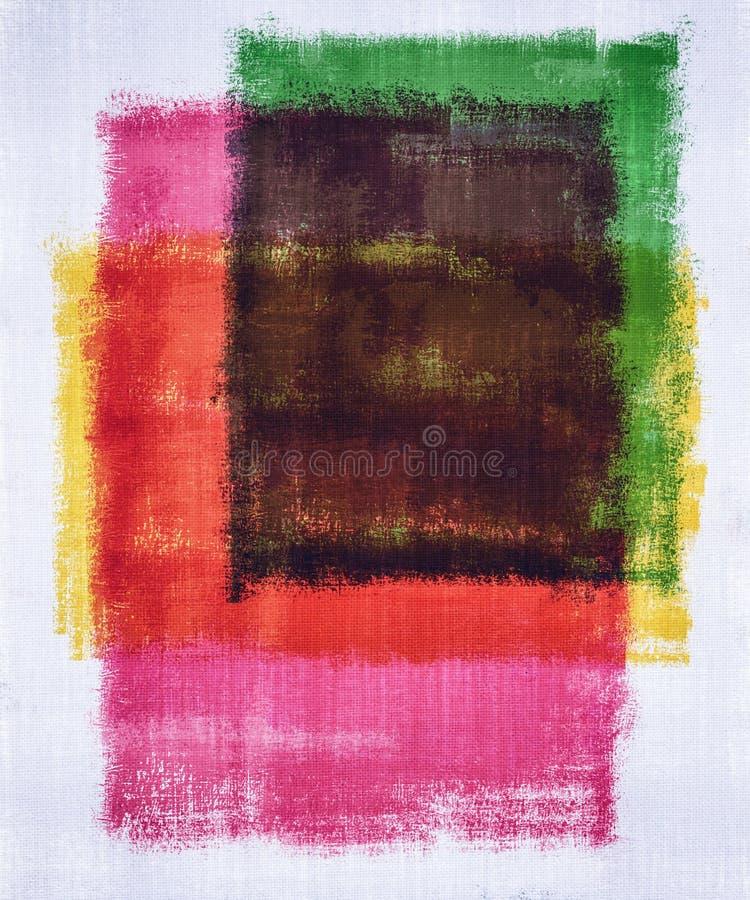 Color de la pintura del arte abstracto fotos de archivo