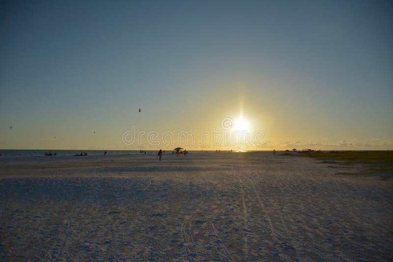 Color de la puesta del sol foto de archivo libre de regalías