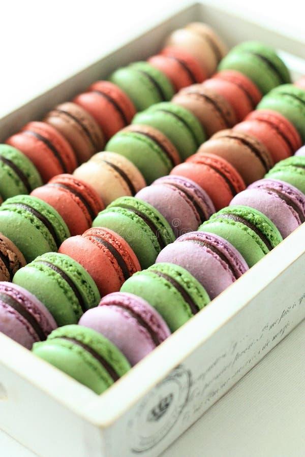 Color de Macarons imágenes de archivo libres de regalías