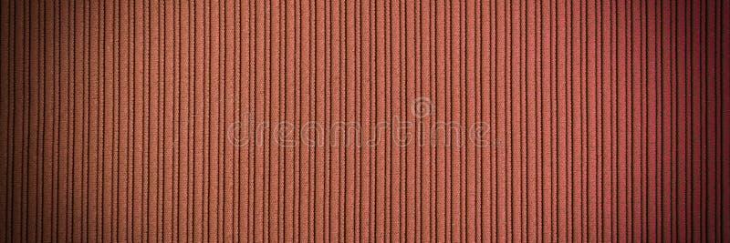 Color de color naranja marrón, textura rayada degradado. Papel tapiz. Arte. Diseño foto de archivo libre de regalías