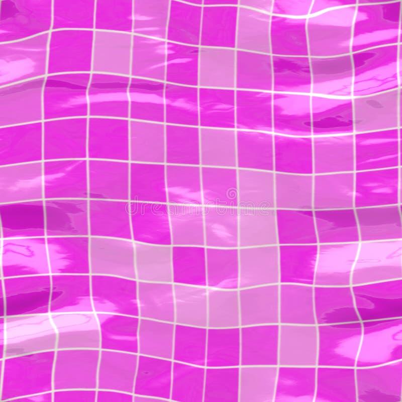 download color de rosa grande sumergido de los azulejos stock de ilustracin imagen 7103026 - Azulejos Rosa