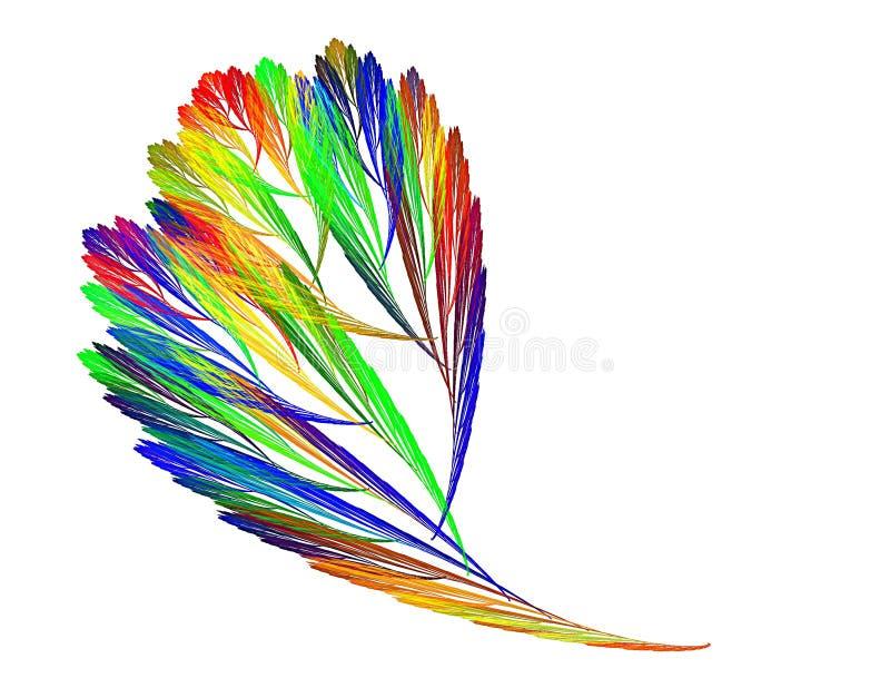Color decorative sheet royalty free illustration