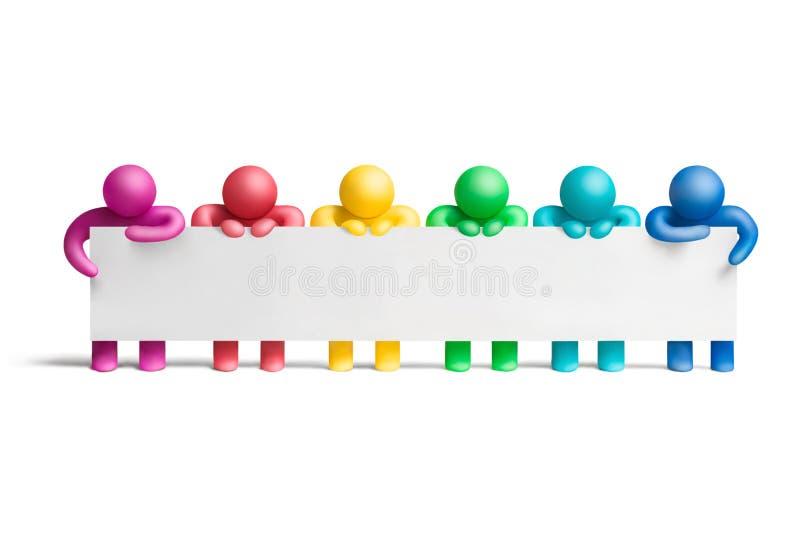 Color demonstration4 vector illustration