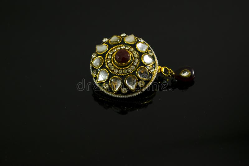 Artificial colorful Jewelry For Women stock images