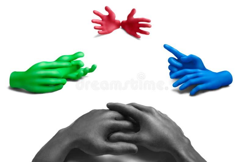 Download Color discussion-3 stock illustration. Image of argument - 21143198