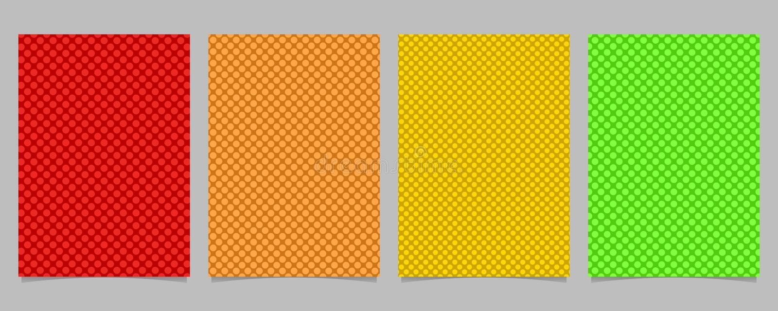 Yellow Modern Geometrical Circle Abstract Background
