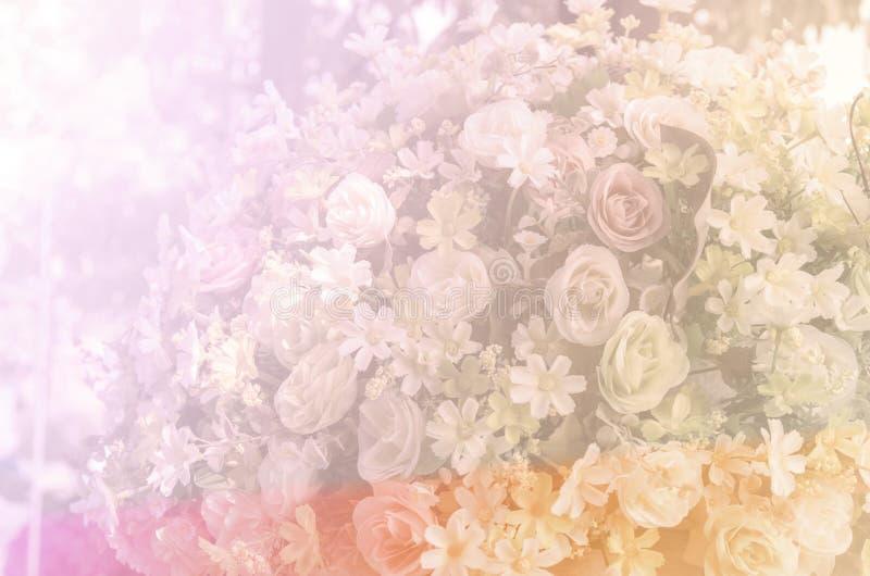 Color dulce en fondo suave del estilo imagen de archivo libre de regalías