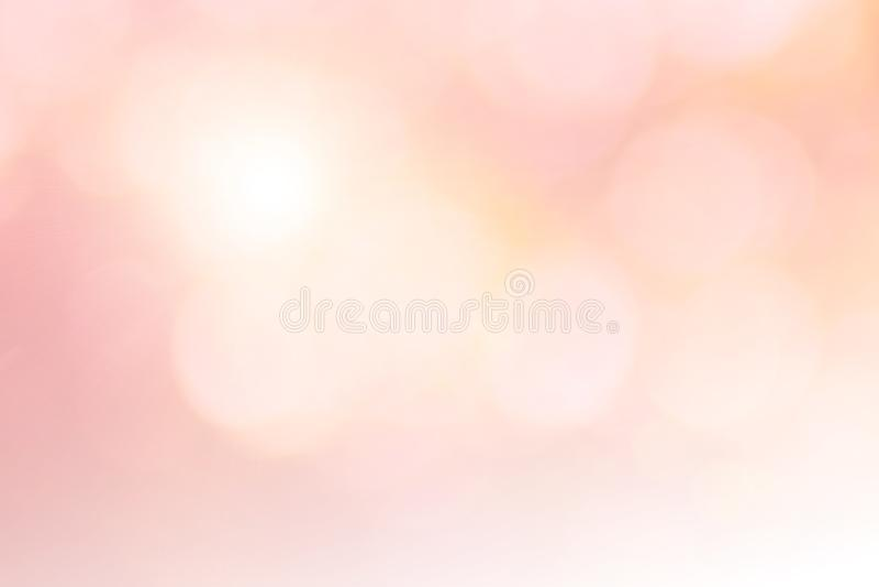 Color en colores pastel que brilla intensamente borroso extracto del brillo hermoso del fondo dulce de la pendiente de la falta d imagen de archivo