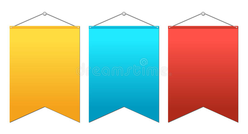 Color Ensign Royalty Free Stock Image