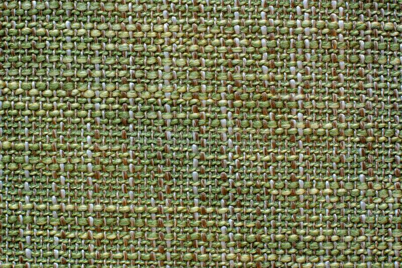 Color fabric texture.Woolen soft crumpled fabric of a green shade. royalty free stock photo