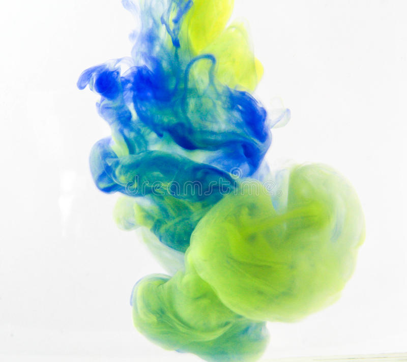 Color fancy smoke stock photo